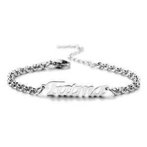 Personalized Name Bracelet Women's Customized Gift