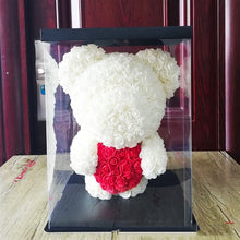 Luxury BIG LED Rose Bear With Gift Box : 2019's Best Anniversary Romantic Gift
