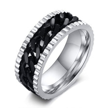 Stainless Steel Chain Spinner Rings