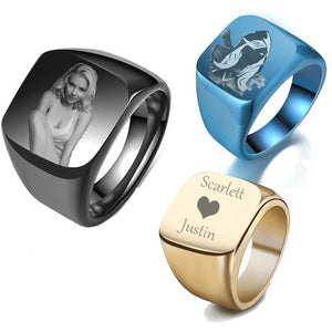 Ring Photo Custom
