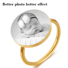 Engrave Photo Ring
