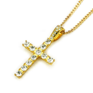 Hip Hop Cross Pendant Necklaces
