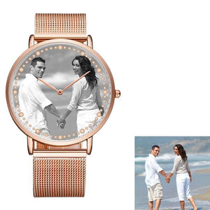 Custom Photo watch with Your Own Logo
