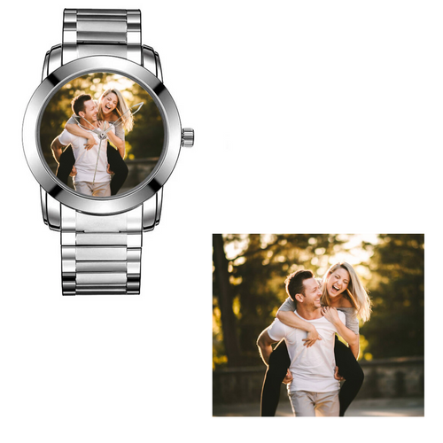 Custom Watch with Your Logo or Photo
