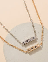 Load image into Gallery viewer, L-O-V-E Necklace