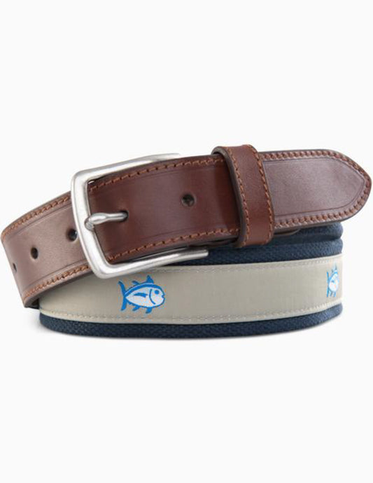 Southern Tide Men's Skipjack Ribbon Belt