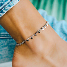 Load image into Gallery viewer, Puravida Mini Coin Anklet