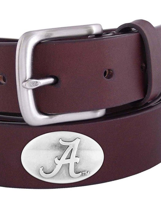 Men's Concho Leather Belt