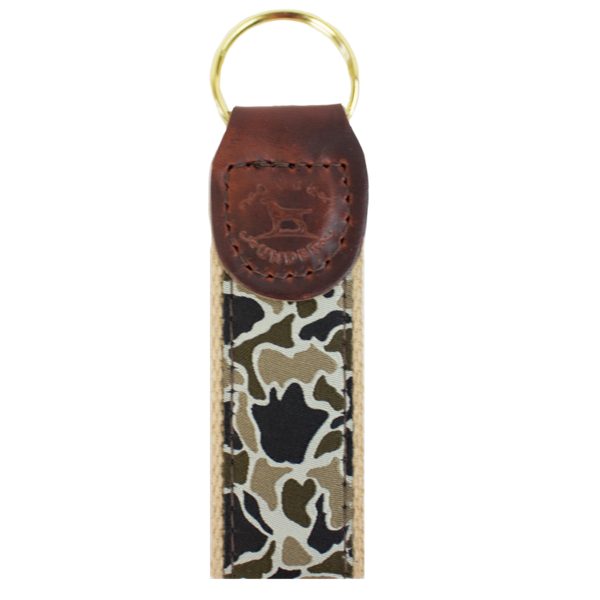 Over Under Ribbon Key Fob