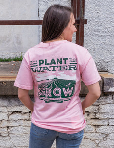 Turnrows Plant Water Grow Short Sleeve Tee