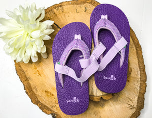 Sanuk Girl's Yoga Glitter Shoes