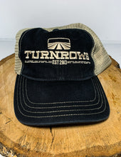 Load image into Gallery viewer, Turnrows Vintage Wash  Logo Mesh Back Hat