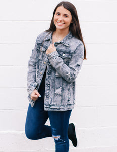 Peaceful Times Denim Jacket