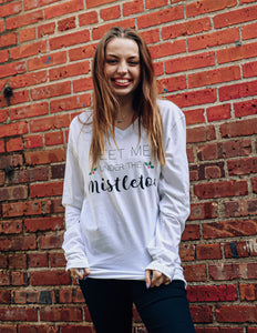 ANC Meet Me Under the Mistletoe Long Sleeve Tee
