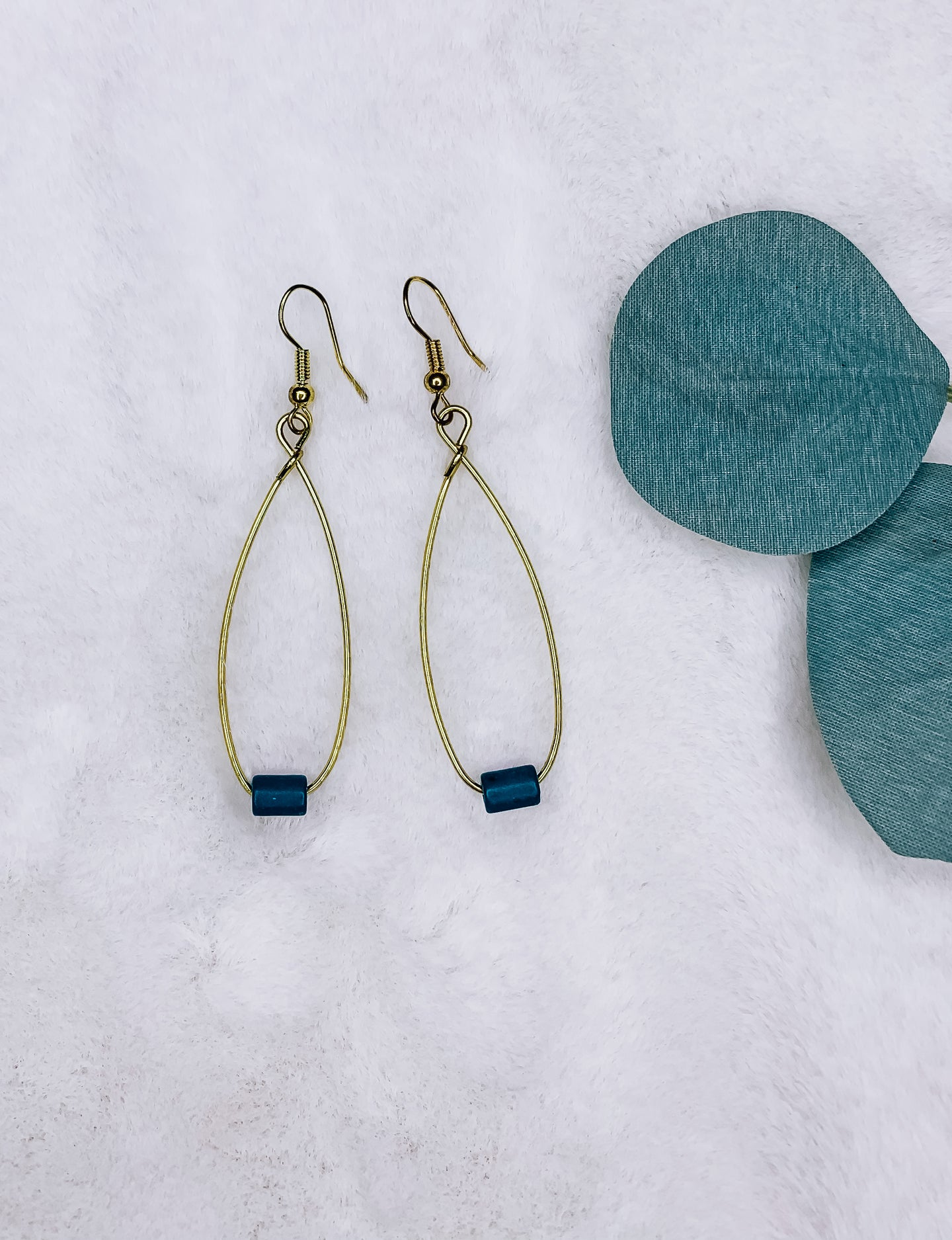 Thinking Of The Ocean Earrings