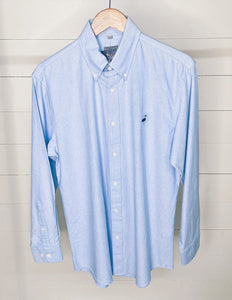 Properly Tied Men's Oxford Blue Button-Down