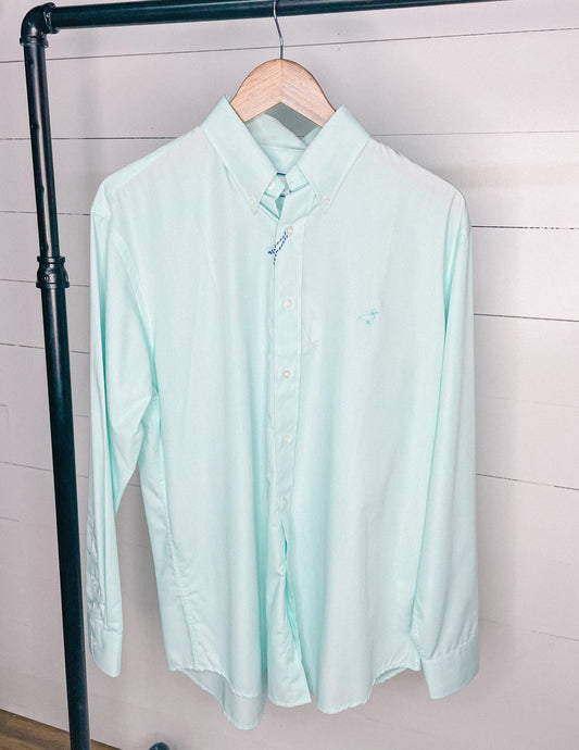 Properly Tied Men's Performance Sportshirt Button-Down