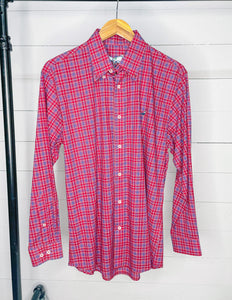 Properly Tied Men's Signature Woven Button-Down