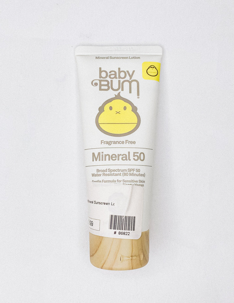 Baby Bum Mineral Sunscreen Lotion