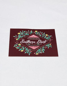Southern Shirt Sticker