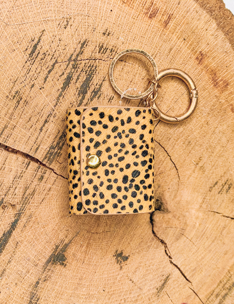 Animal Print Leather Airpods Pro Case Protection Cover