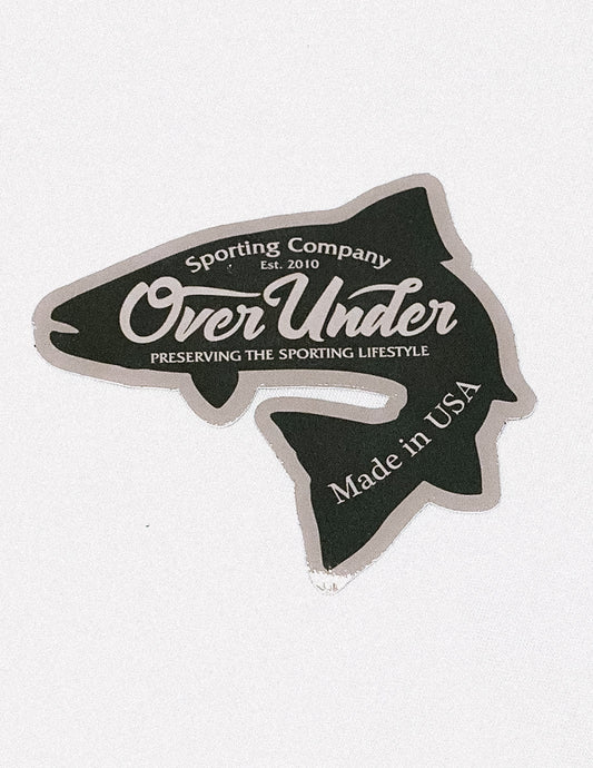 Over Under Sticker