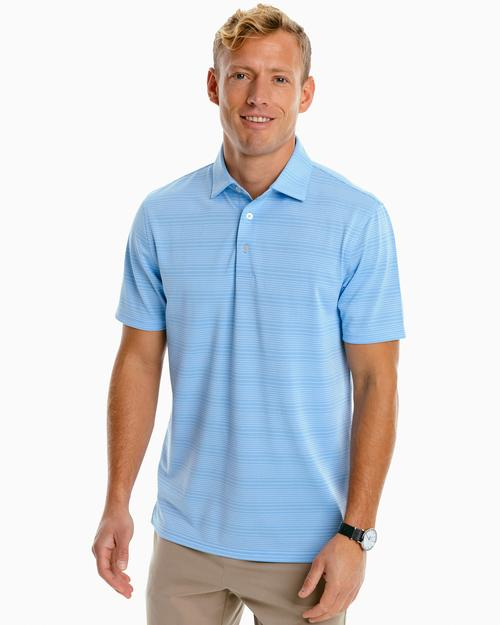 Southern Tide Men's Roster Calero Stripe Performance Polo