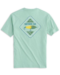 Southern Tide Men's St Lure Heather Short Sleeve Tee