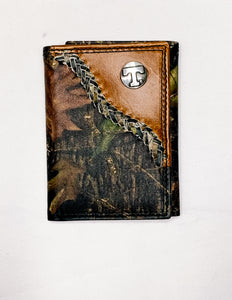 Camo Trifold Wallet
