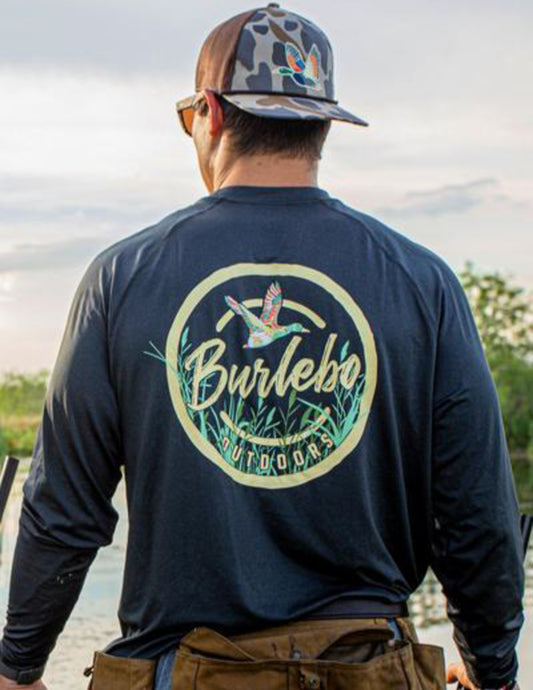 Burbelo Performance Burbelo Outdoors Men's Sun Tee