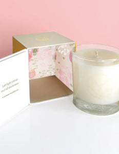 Champagne & Rose Soy Candle