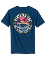 Southern Tide Youth Bike and Board Rental Short Sleeve Tee