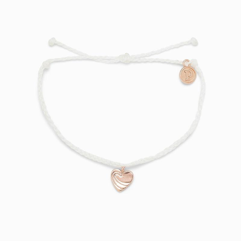 Puravida Surf Love Rose Gold Bracelet