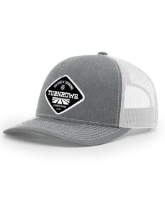 Turnrows Woven Patch Hat