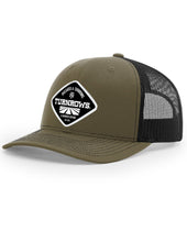 Load image into Gallery viewer, Turnrows Woven Patch Hat
