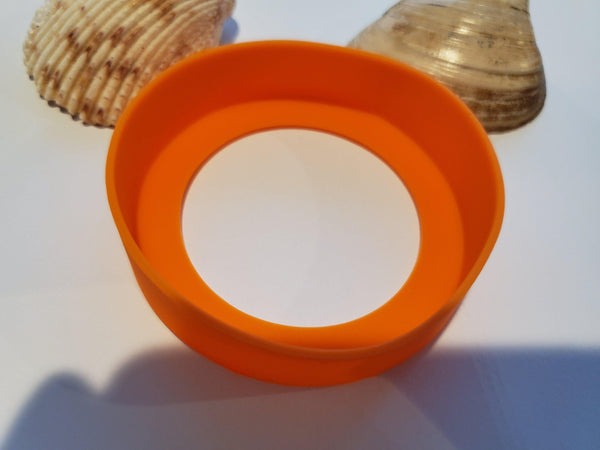 Neon Orange Silicone Bumper
