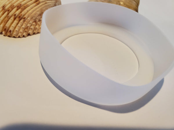 Clearish White Silicone Bumper