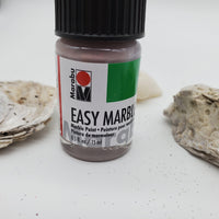 Rose taupe easy marbling paint