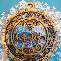 Christmas Dispatcher Ornament