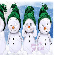 4 Snowman Digital File