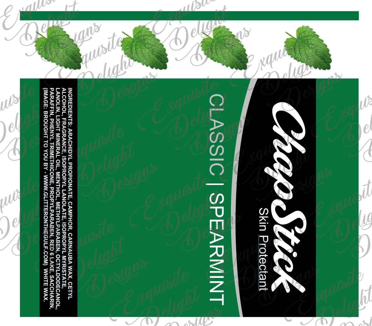 Spearmint CS Digital File