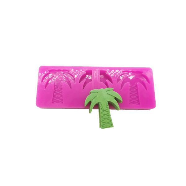 Coconut Tree Straw Topper Mold