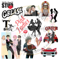 Grease Waterslide Digital File