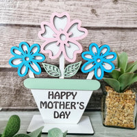 DIY Mothers day flowers in pot