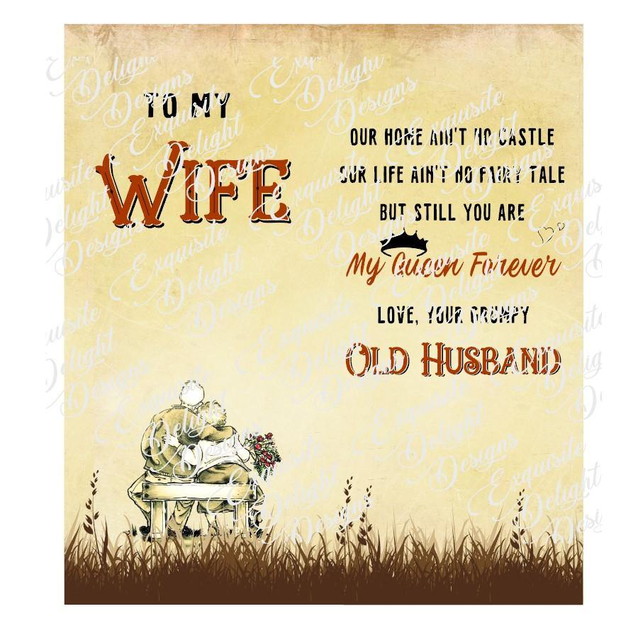 To My Wife Digital File