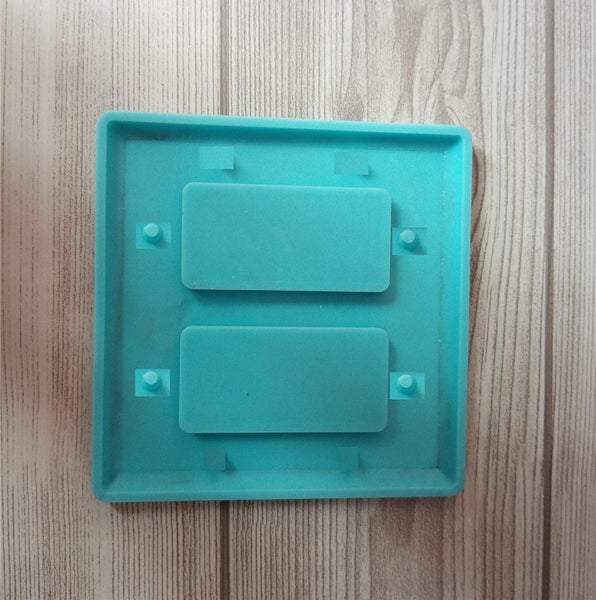 2 square plugin cover mold