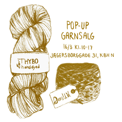 POP-UP GARNSALG