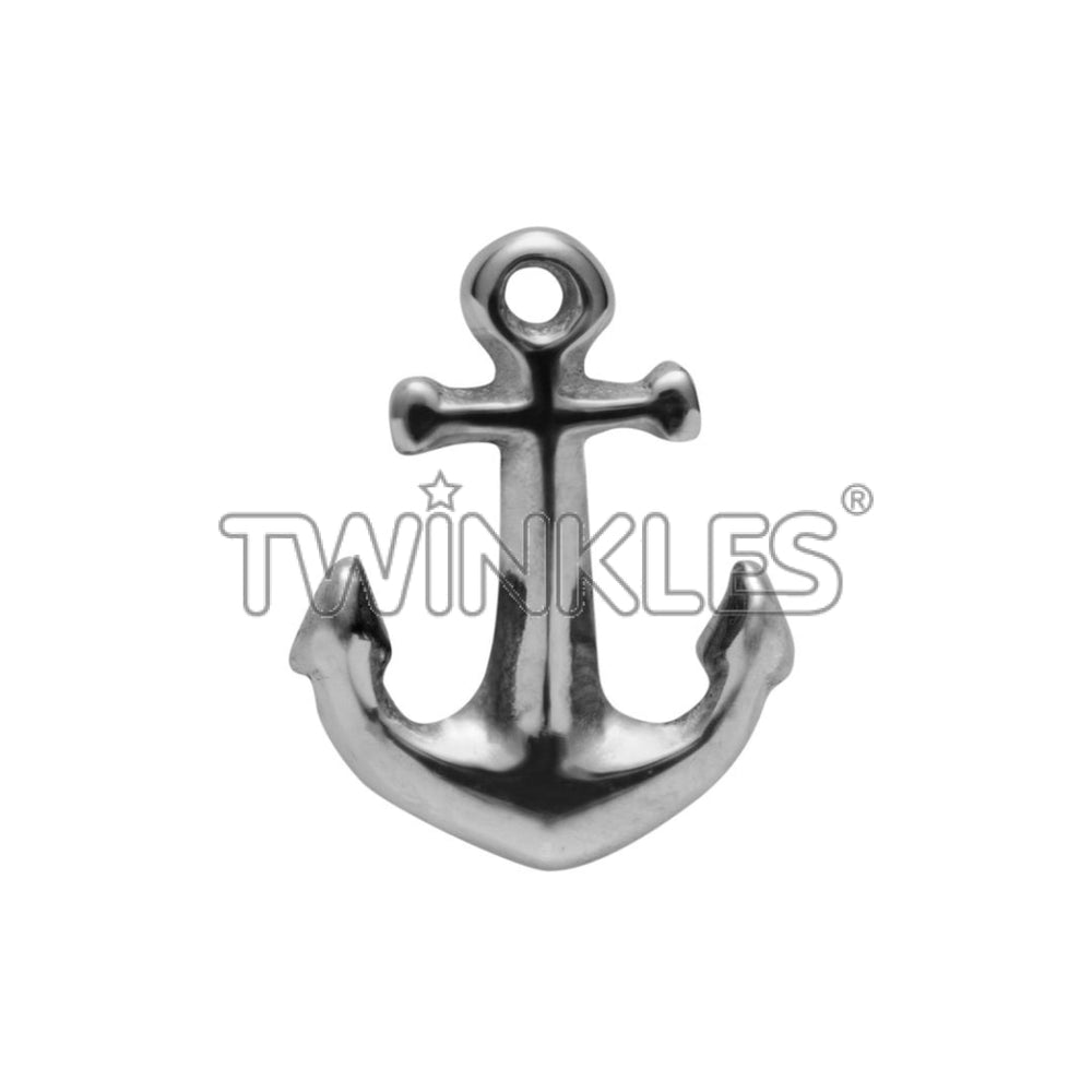 Anchor White Gold Tooth Gem