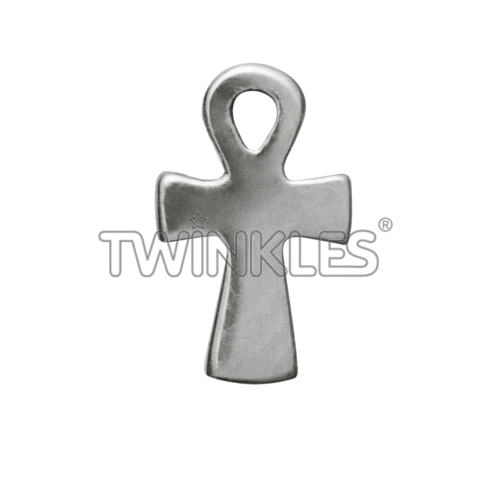 Ankh Egyptian Cross White Gold