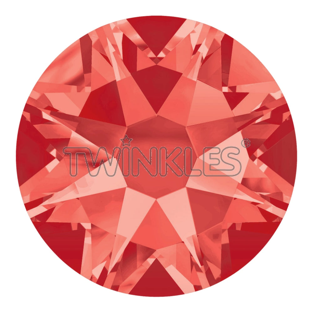 Crystal Padparadscha 1.8mm 5-pack